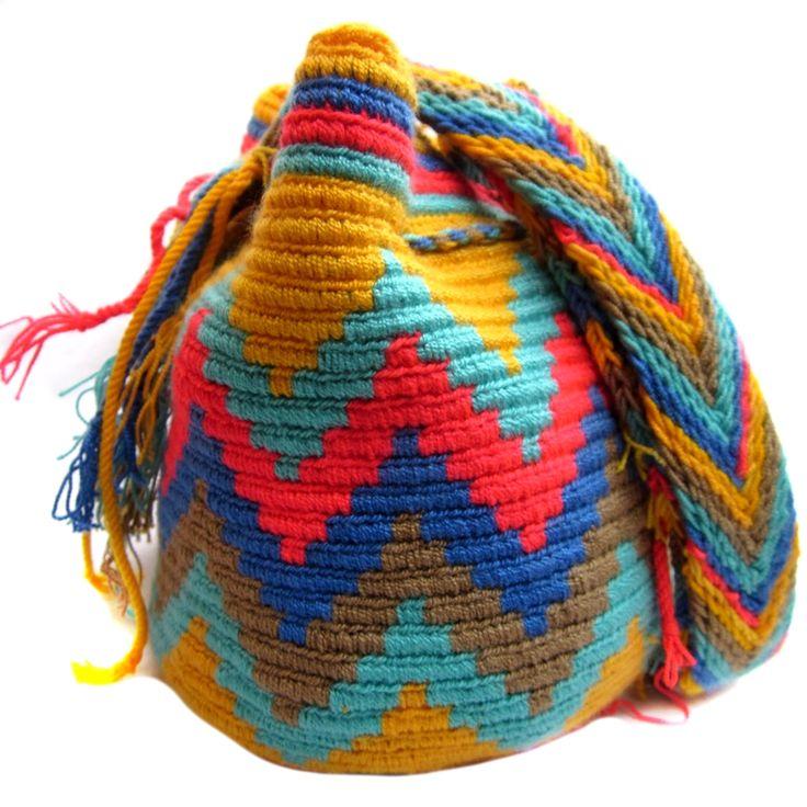 Handmade and Fair Trade Wayuu Mochila Bags – LOMBIA & CO. | www.LombiaAndCo.com