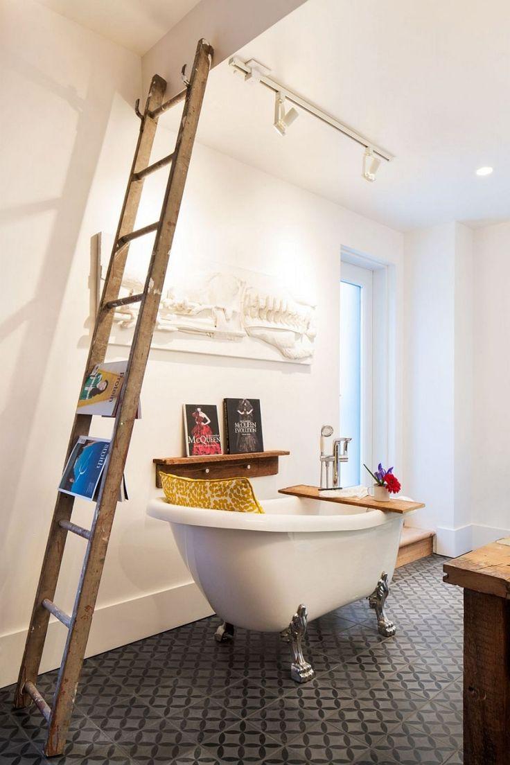 Meer dan 1000 ideeën over vintage badkamers op pinterest   roze ...