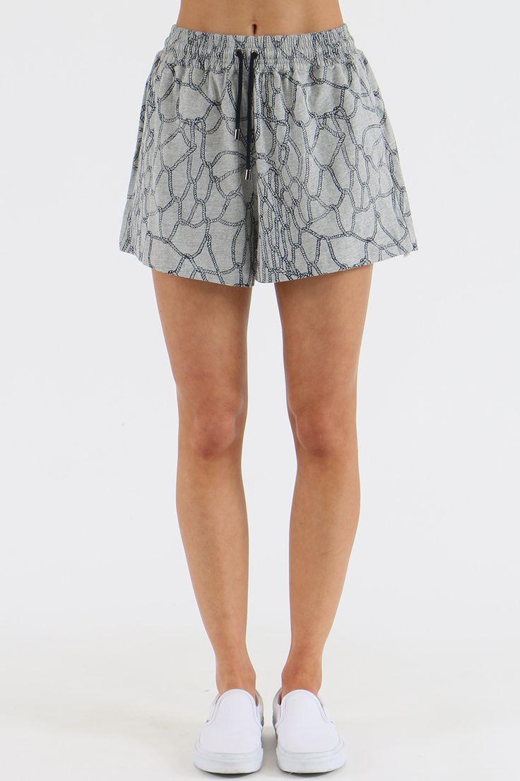 Huffer Jump Tangled Short - Walk Shorts | North Beach