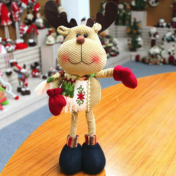 Find More Christmas Decoration Supplies Information about  2015 New Christmas Decoration Cute Santa Claus Snowman Deer Reindeer  SHB226,High Quality christmas decorations japan,China christmas nutcracker decorations Suppliers, Cheap christmas decoration purple from Direction on Aliexpress.com