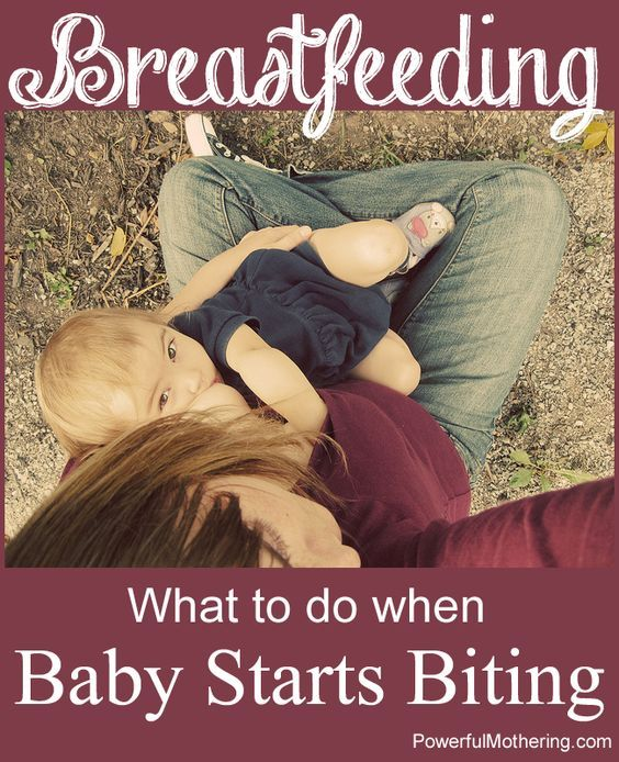 What to do when your teething baby wants to bite you during breastfeeding! Some solutions and advice as well as awesome further reading.