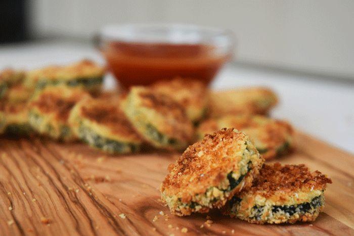 Parmesan Zucchini Crisps — Nikki Dinki Cooking