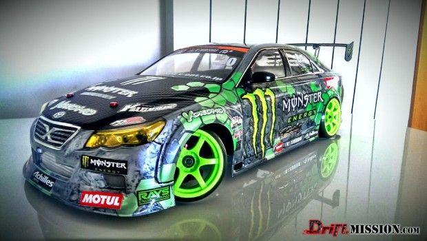DriftMission Sept 2013 RC Drift Body of The Month Winner Toyota Mark X (3)