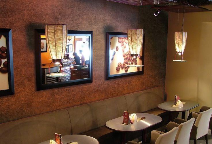 Reštaurácie a komerčné priestory - dekorativne-natery.sk
