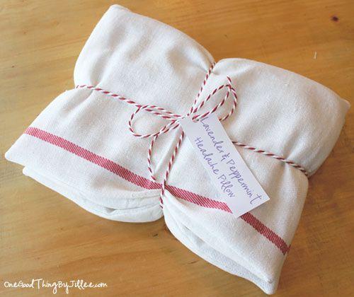 How To Make Your Own Headache Pillows