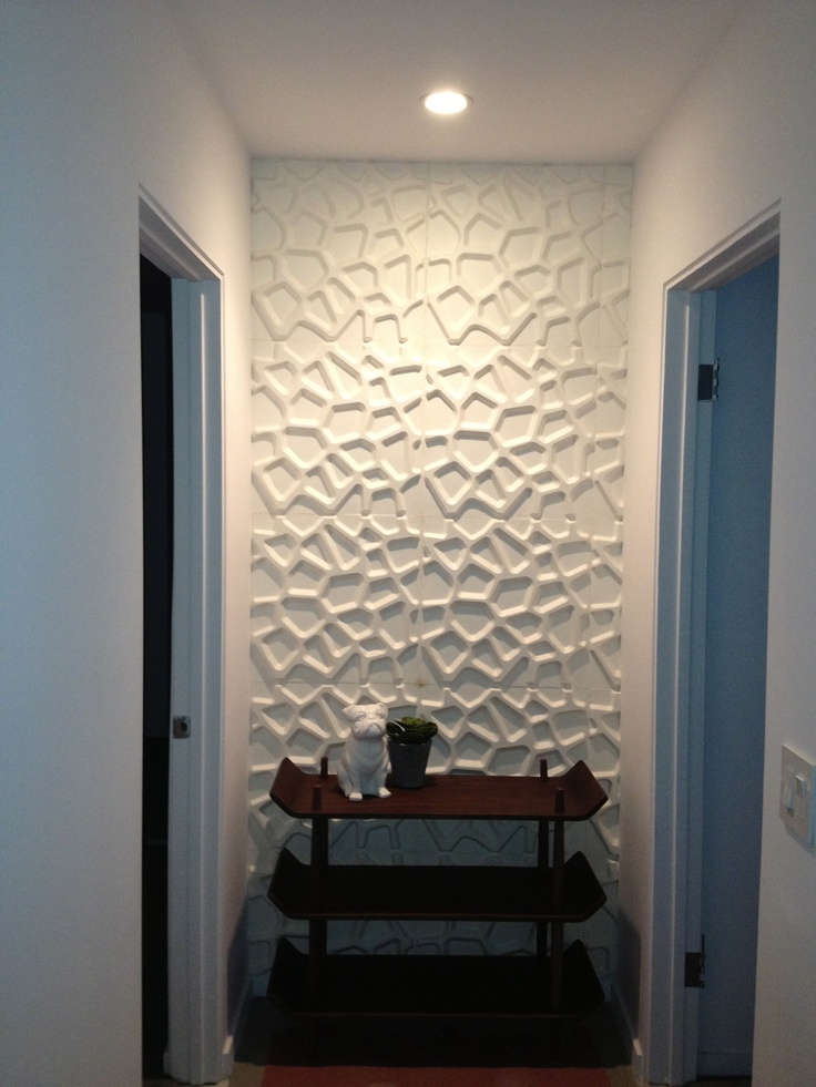 25 best ideas about 3d wall panels on pinterest 3d wall for Interior wall design