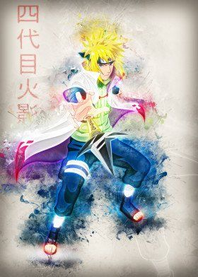 anime manga 4th cartoon comic naruto bleach one piece minato hero pop online game gaming gamer film movie