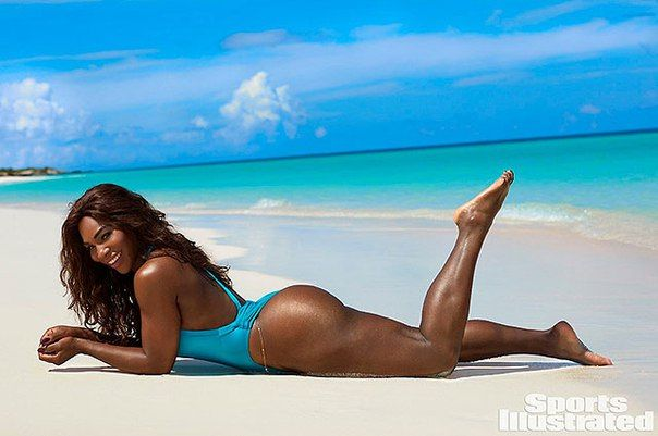 Серена Уильямс появилась на страницах купального выпуска Sports Illustrated