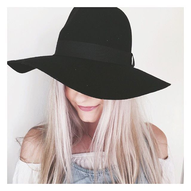 I'm loving this new hat from @kmartaus, which is kind of a cross between a Panama and a Fedora. It also comes in a camel colour, and is a bargain at just $15! I'm definitely going to be getting my wear out of it this year! #Kmart #kmartaus #bargain #hat #fedora #womensfashion #kmartstyling