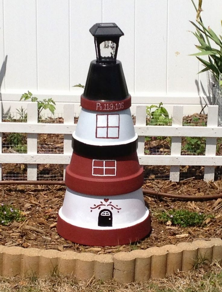 Baker Blends of Life: DIY Lighthouse