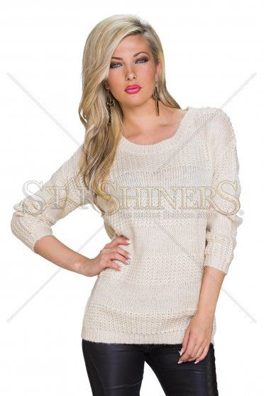 Warm Moment Cream Sweater