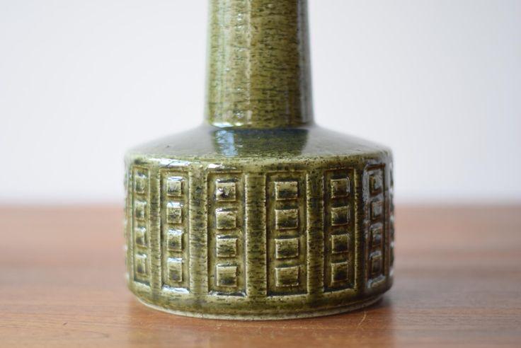 Scandinavian Table Lamp in Moss Green by Annelise & Per Linnemann-Schmidt for Palshus, 1960s 6