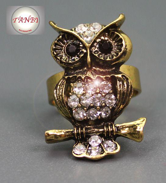 EULEN RING Nr. 2 von TANBI-accessories:  Schmuckstücke für Kids und Erwachsene auf DaWanda.com