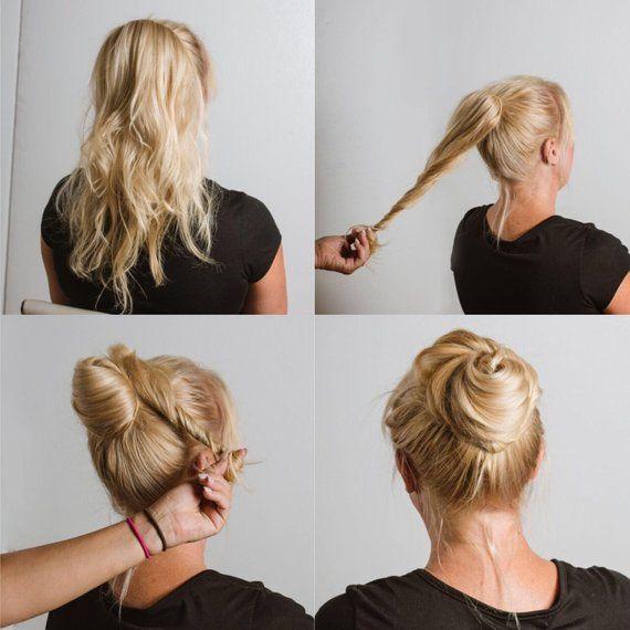 Pretty Hairstyles For Hot Day S Bun Hair Accessories Bun Holder Accessories For Hair Fashion Accessory Hair Accessories Hair Styles Pretty Hairstyles Long Hair Styles