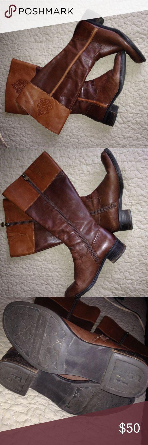 Franco Sarto boots Great condition Franco Sarto Shoes Combat & Moto Boots
