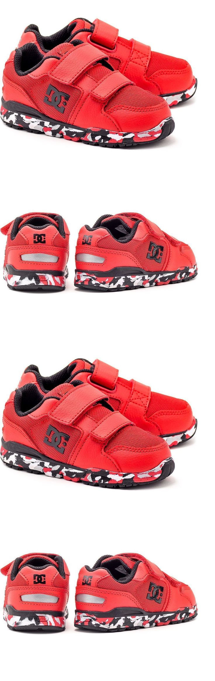 Infant Shoes: Dc Forter V Black Red White Infant Toddler Baby Boy Shoes Sneakers Size 6-9 -> BUY IT NOW ONLY: $33.95 on eBay!