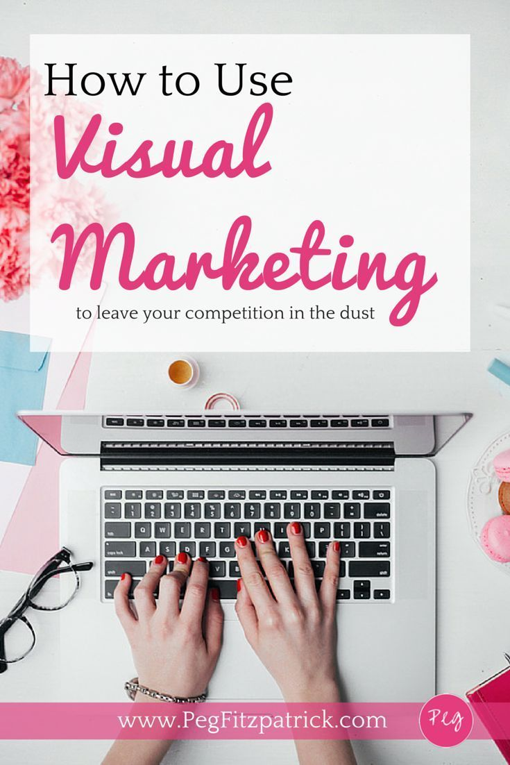 How to use visual marketing to create great graphics for your blog or social media posts.