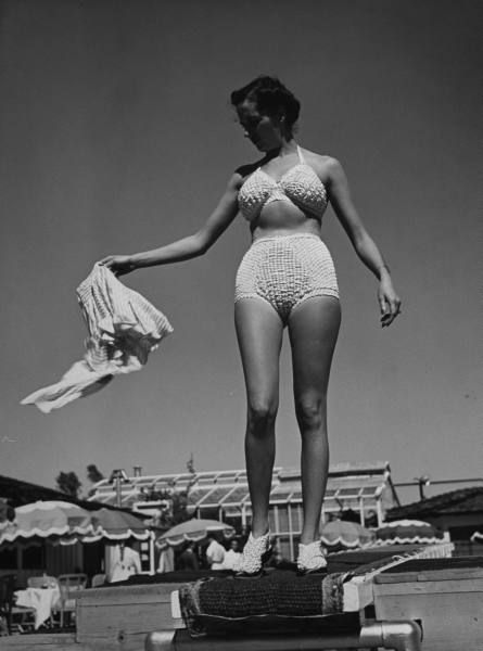 The Bikini Was Invented By The French Designer Louis R Ard In 1946 Vintage Bikini 39 S