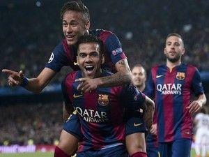 Dani Alves denies convincing Neymar to join Paris Saint-Germain