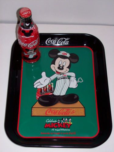 Limited Edition  Mickey Mouse Coke tray