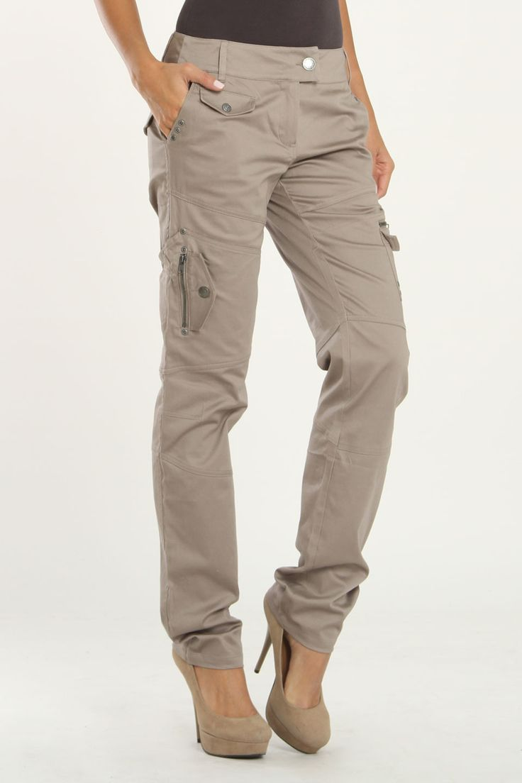 Khaki cargo pants swag