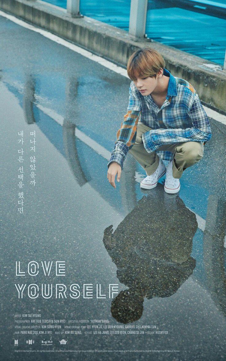 """""""¿Me hubieras dejado si hubiera tomado otra decisión?"""" #KimTaeHyung #Loveyourself"""