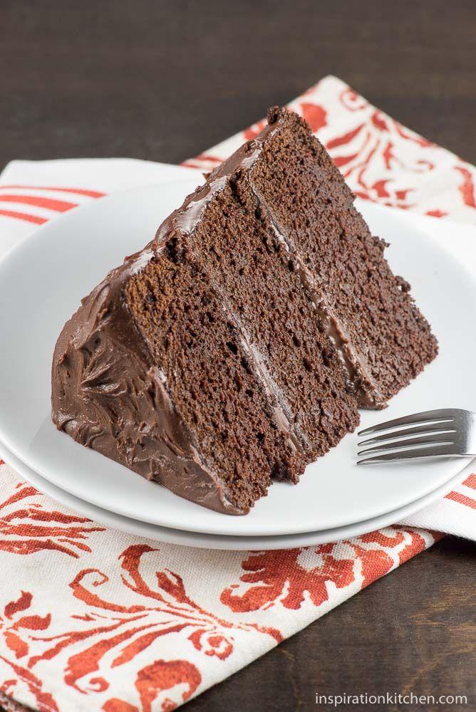 Chocolate Stout Chocolate Cake - inspirationkitchen.com