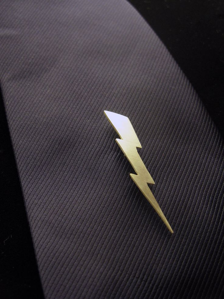 Lightning Bolt Tie Pin, one day you will be mine.