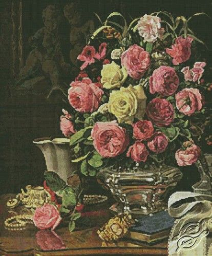Roses - Free Cross Stitch Pattern
