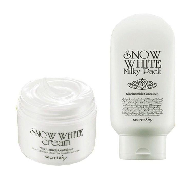 [Visit to Buy] SECRET KEY Snow White Cream 50g + Snow White Milky Pack 200g Skin Whitening Cream Face Anti Winkles Moisturizing Korea Cosmetics #Advertisement