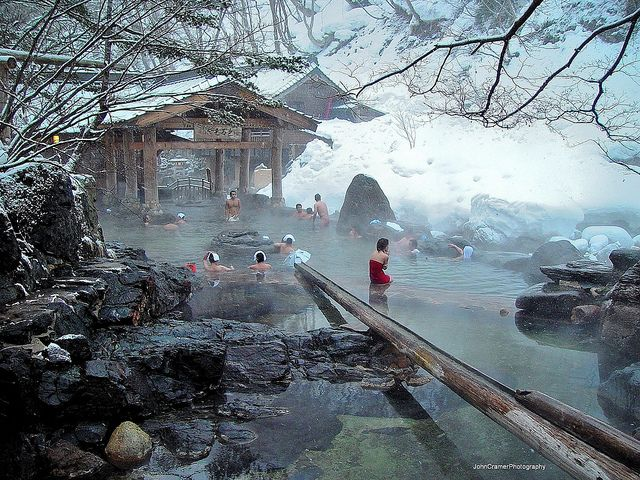 Takaragawa Onsen Rotenburo 宝川温泉 露天風呂 | Flickr - Photo Sharing!