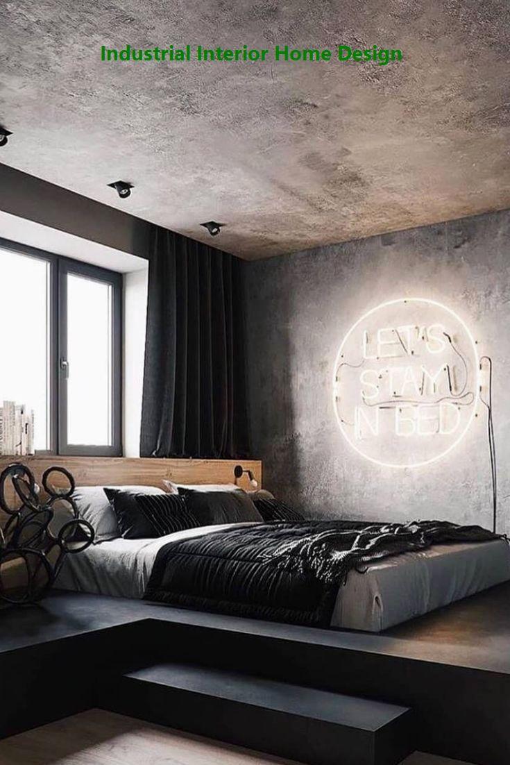 20 Diy Industrial Design Ideas Industrial Bedroom Design Contemporary Bedroom Design Bedroom Design Diy industrial bedroom ideas