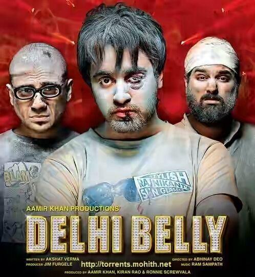 Quality Movies : DELHI BELLY 2011 Blu-ray 480p 300mb