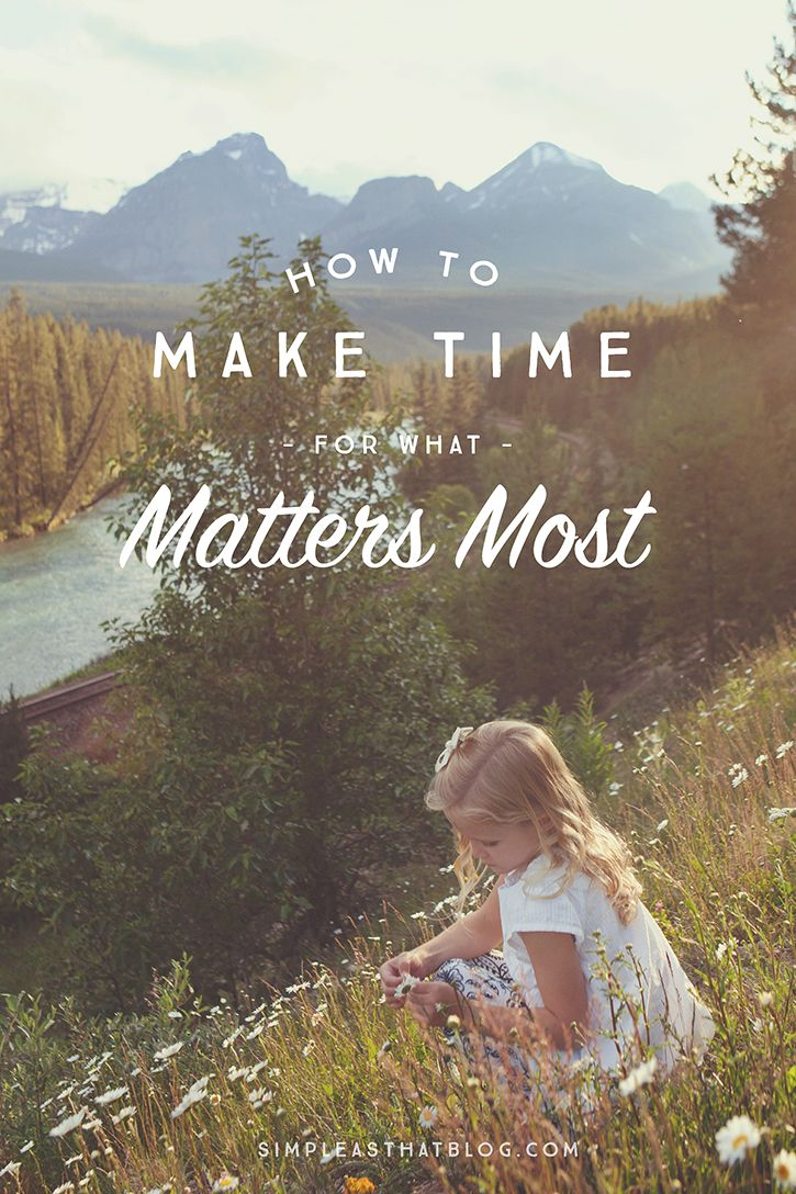If one of your goals this year is to devote more time to the parts of your life that you most want to nurture, then here are five ways to achieve that!