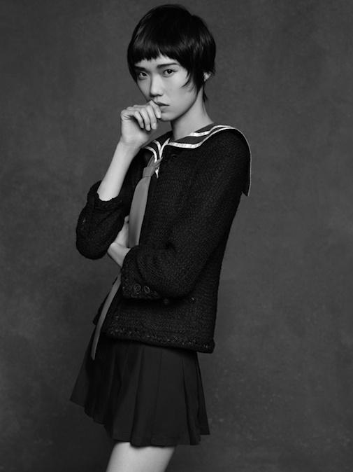 Chanel The Little Black Jacket ~ Tao Okamoto