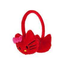 "paper faces Kırmızı ""Hello Kitty"" Kulaklık"
