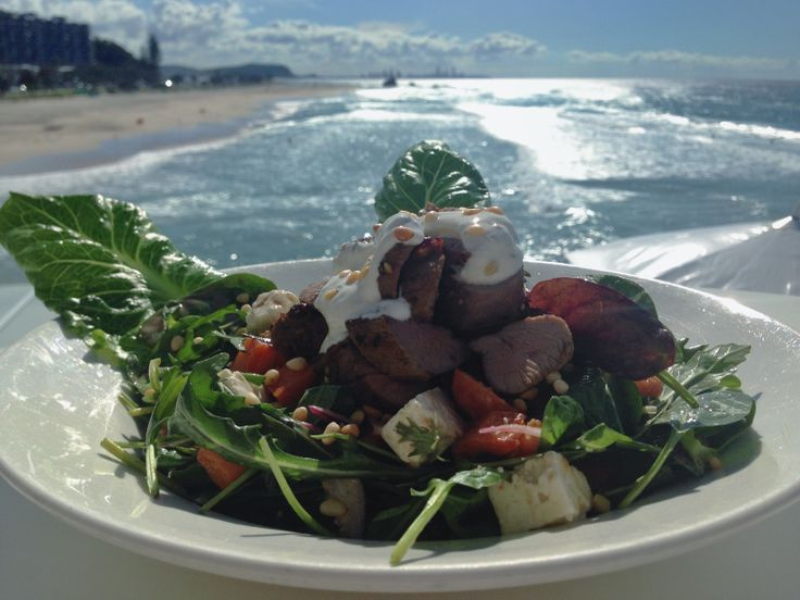 Currumbin Beach Vikings - Warm Moroccan Lamb Salad