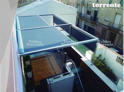 Pérgola acero inoxidable Perginox® IN1 - Pérgolas Barcelona TE®