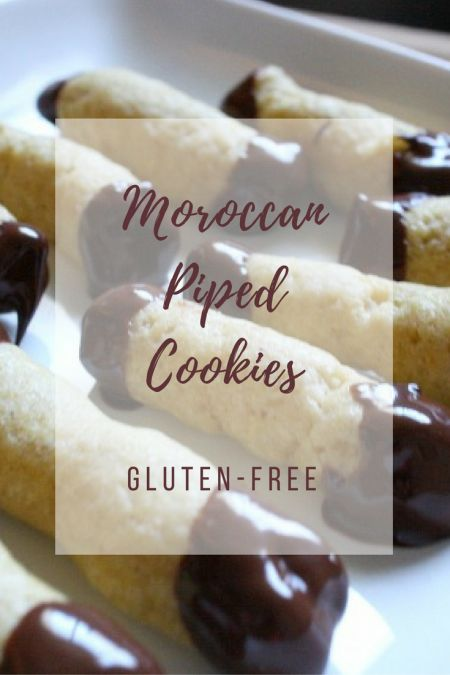 Treat yourself to these Moroccan Piped Cookies. The perfect gluten free sweet to pair with hot mint tea. Get the recipe here!