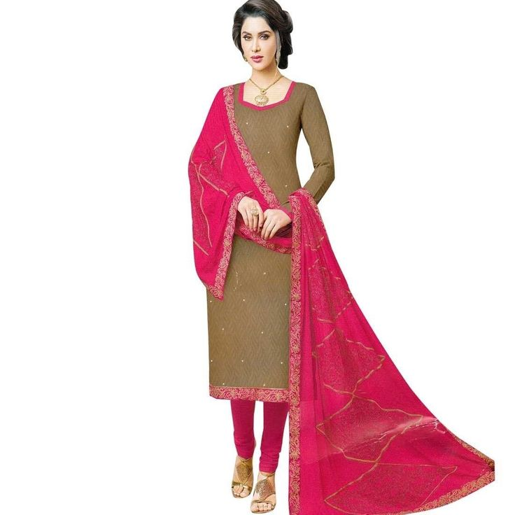 Readymade Embroidered Dupatta Jacquard Cotton Salwar Kameez Suit  #NewStuff #SalwarSuit #SalwarKameez #Designer #ShopNow #DressMaterial #LowestPrice #FreeShipping