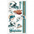 Miami Dolphins Temporary Tattoos #Miami #Florida #Dolphins #MiamiDolphins #Memorabilia #Sports #Merchandise #Football #NFL | Order Today At www.sportsnutemporium For Only $1.95