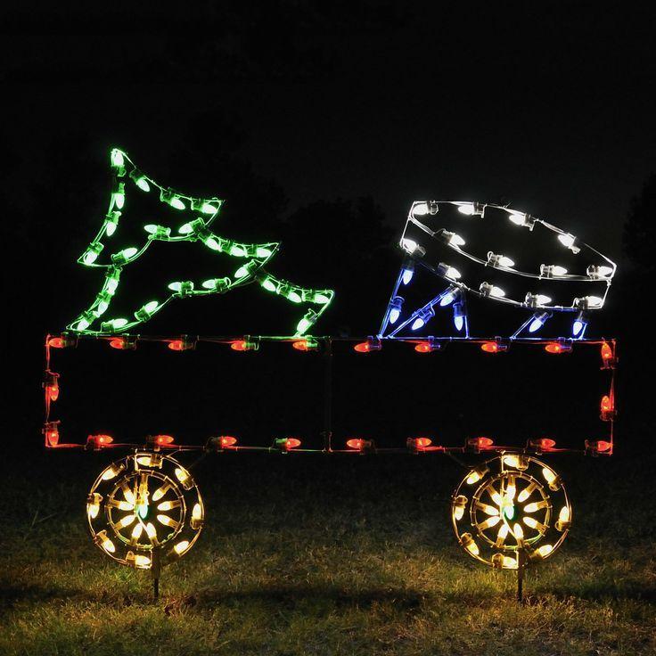 61 Best Christmas Lights Figurines Images On Pinterest Figurines  - Budweiser Christmas Lights