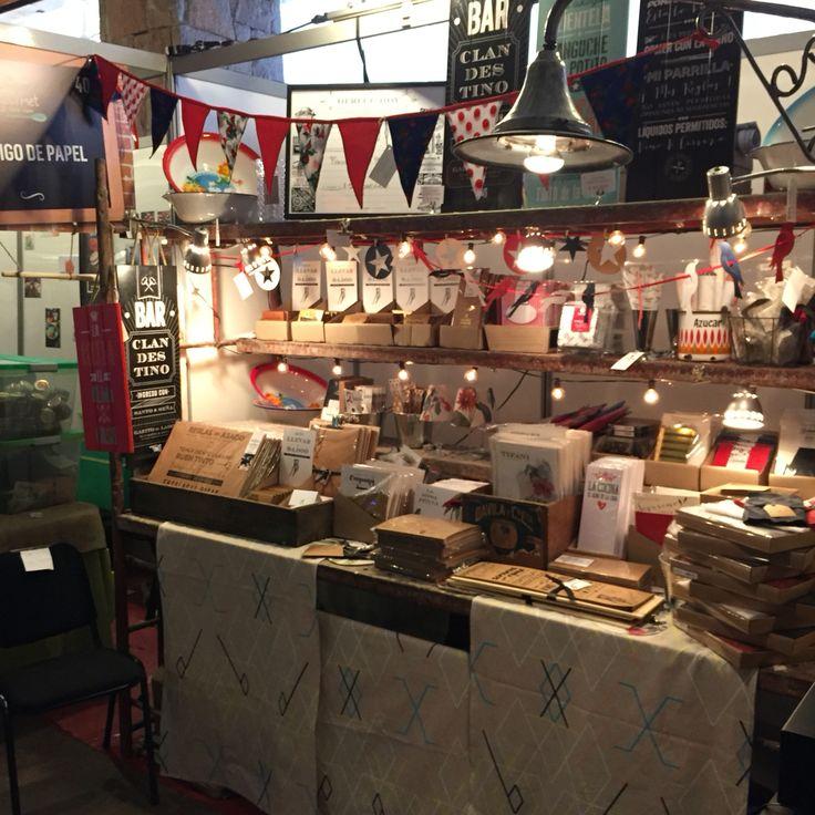 Our spot at La despensa Gourmet food fair