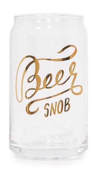 Gift Boutique Бокал с надписью «Beer Snob»