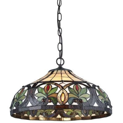 41 best tiffany lamps images on pinterest tiffany lamps hanging serena ditalia tiffany 2 light sunrise bronze pendant hanging lamp aloadofball Gallery
