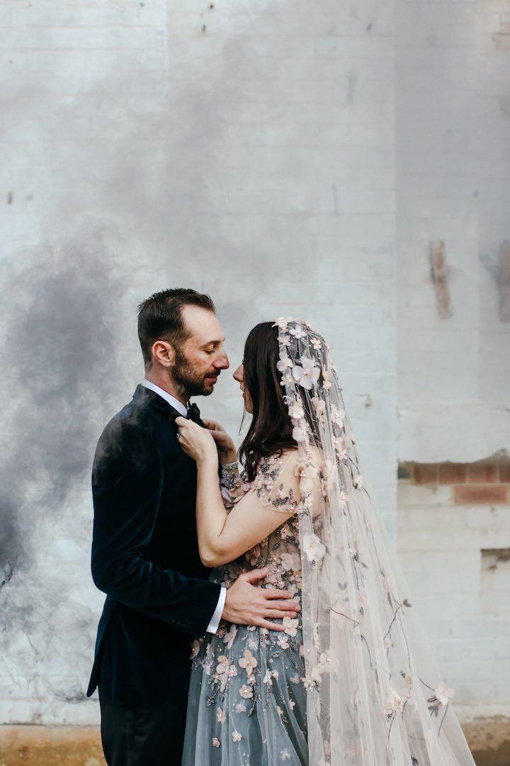 Featured Photographer Lara Hotz Photography Wedding Veil Idea