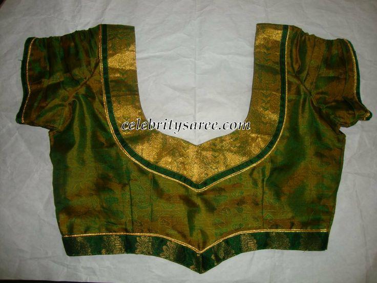 Designer Pattu Blouses Simple designer blouses for