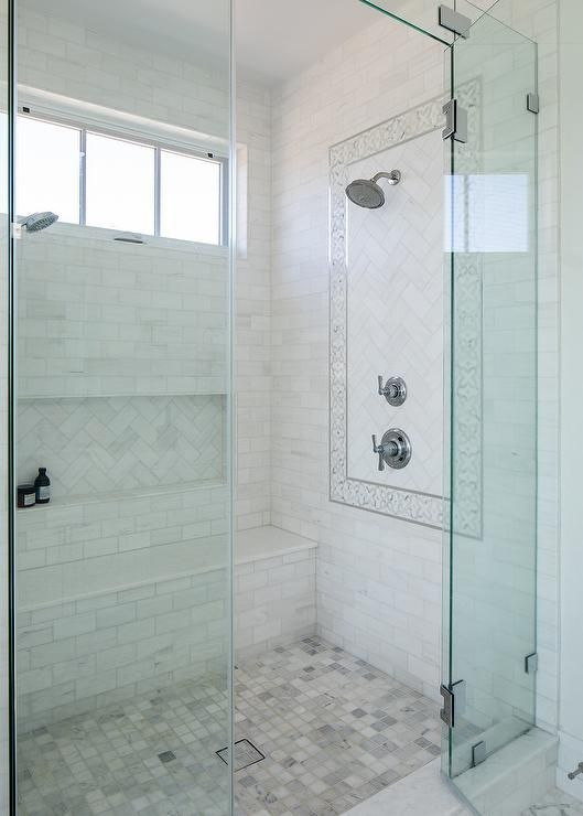 Blue And White Bathroom Tiles Ideas