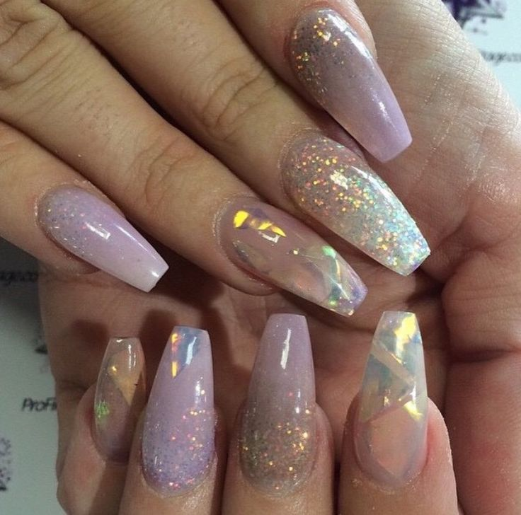 Coffin nails fit for a ! #trythisnail