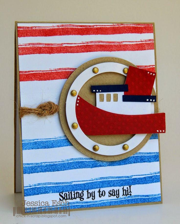My Creative Time Sneak Peek Day 2 Lost at Sea & Stripey Background Nautical Theme